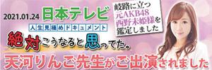電話占いウィル 日本テレビ 天河りんご先生 メディア出演 占い師